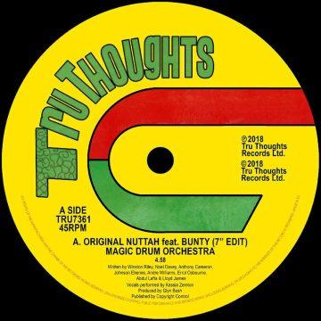 "Original Nuttah Feat. Bunty (7""Edit) | Dread Nourishment"