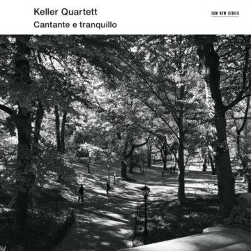 Cantante e tranquillo Keller Quartett stereodisc