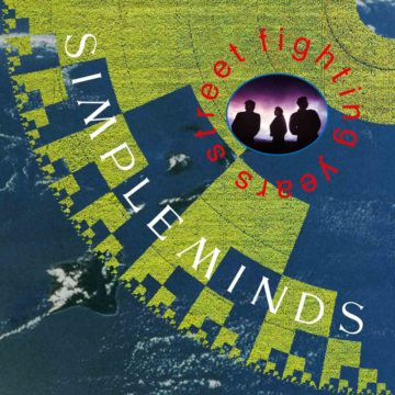 Street Fighting Years Simple Minds stereodisc