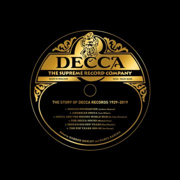 Decca The Supreme Record Company stereodisc