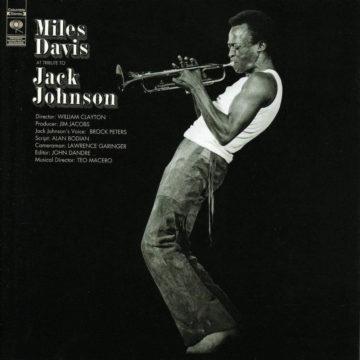 A Tribute To Jack Johnson Miles Davis stereodisc