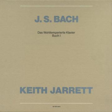 Johann Sebastian Bach: Das Wohltemperierte Klavier, Buch I Keith Jarrett stereodisc