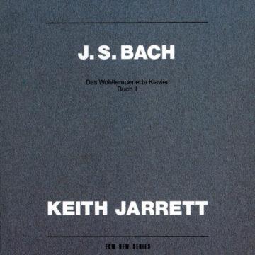 Johann Sebastian Bach: Das Wohltemperierte Klavier, Buch II Keith Jarrett stereodisc