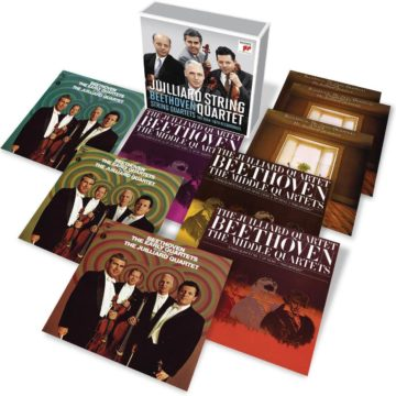 Beethoven: Complete String Quartets (1964-1970 Recordings) stereodisc
