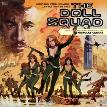 Nicholas Carras The Doll Squad Original Motion Picture Soundtrack stereodisc