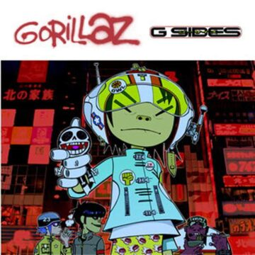 G-sides Gorillaz stereodisc