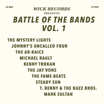 Various – Battle Of The Bands Vol. 1 stereodisc