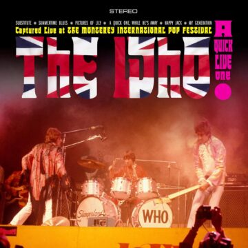A Quick Live One The Who stereodisc