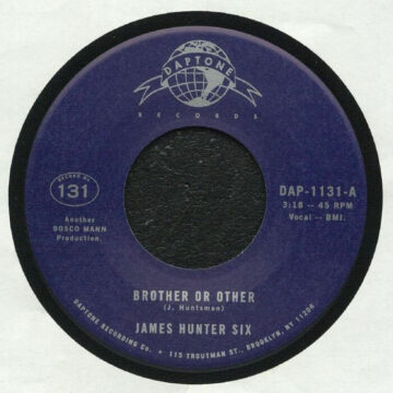 The James Hunter Six ‎– Brother Or Other stereodisc