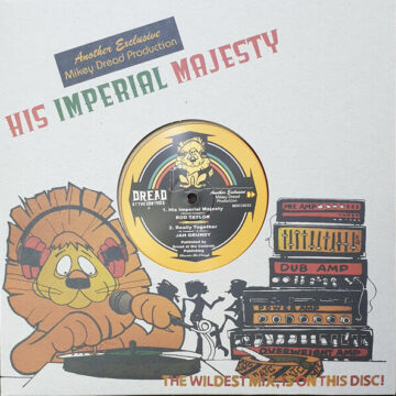 Rod Taylor / Jah Grundy / Mikey Dread / King Tubby ‎– His Imperial Majesty stereodisc