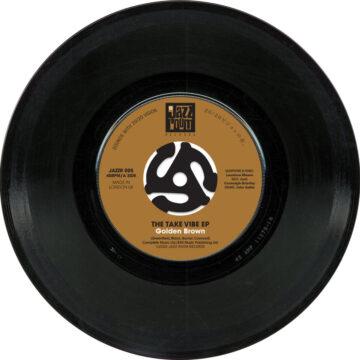 Take Vibe E.P. Golden Brown stereodisc