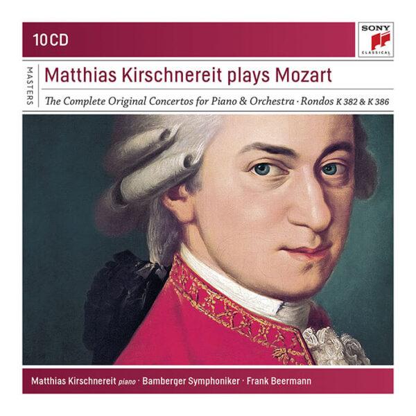 Matthias Kirschnereit plays Mozart: The Complete Original Concertos, Rondos K.382 & K.386 stereodisc