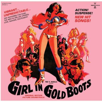 Girl In Gold Boots Original Motion Picture Soundtrack stereodisc