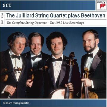 The Juilliard String Quartet Plays Beethoven: The Complete String Quartets - The 1982 Live Recording stereodisc