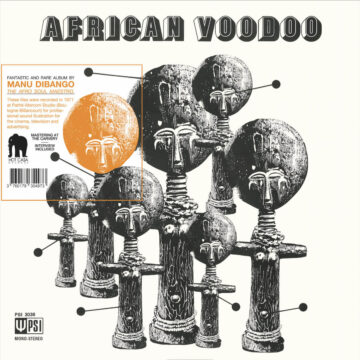 AFRICAN VOODOO by MANU DIBANGO stereodisc