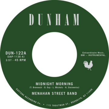 Menahan Street Band Midnight Morning / Stepping Through Shadow