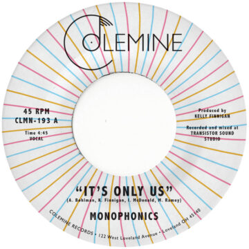 Monophonics It's Only Us stereodisc