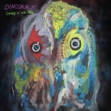Dinosaur Jr. Sweep It Into Space stereodisc