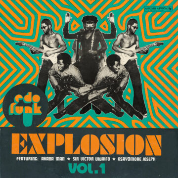 Edo Funk Explosion Vol 1 stereodisc