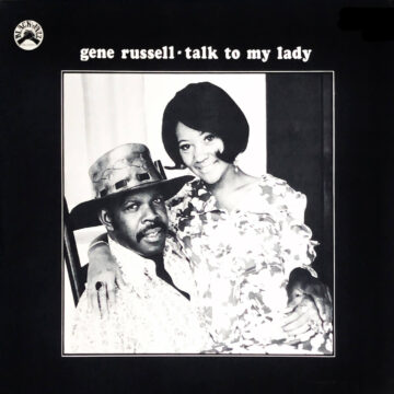 Talk to My Lady Gene Russell stereodisc