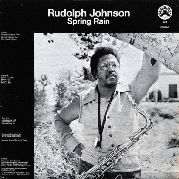 Spring Rain Rudolph Johnson stereodisc