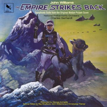 The Empire Strikes Back - Symphonic Suite John Williams / Charles Gerhardt / National Philharmonic Orchestra stereodisc