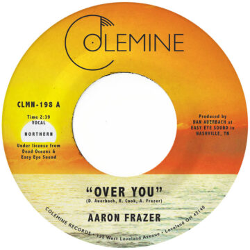 Aaron Frazer – Over You / Have Mercy stereodisc