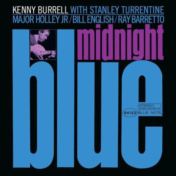 Midnight Blue. Kenny Burrell stereodisc