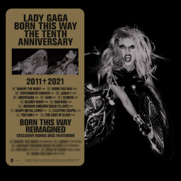 Lady Gaga – Born This Way (The Tenth Anniversary) stereodisc
